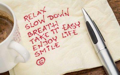 3 Simple Ways to De-Stress