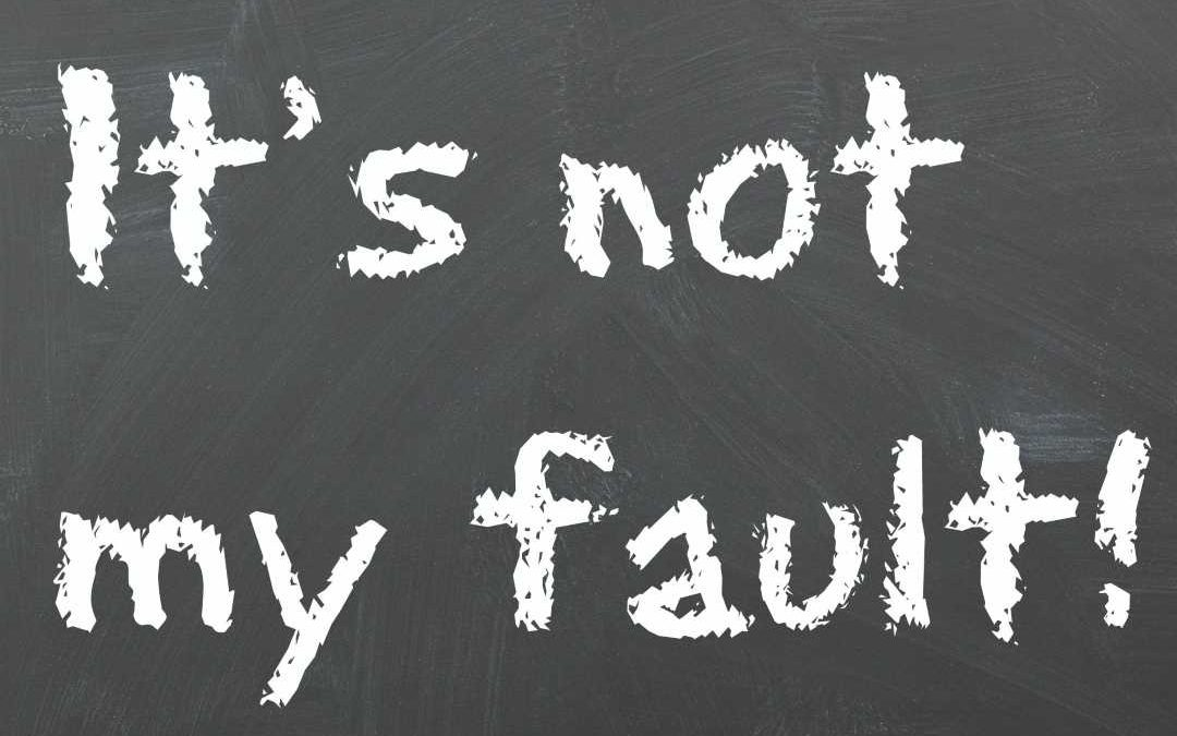 Never Anyone's Fault